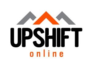 upshift logo wht
