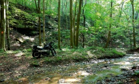 Triumph Scrambler Spaas Creek Road MotoADVR